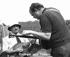 Tommy Thompson and Bertram Levy - about 1966